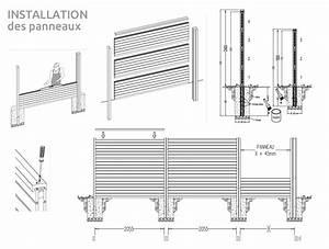 Palissade Anti Bruit : les panneaux anti bruits silenzo palissade cloture ~ Premium-room.com Idées de Décoration