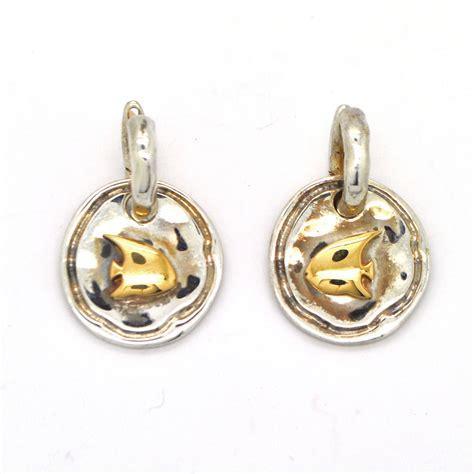 pomellato gioielli argento pomellato orecchini oro e argento mvs gioielli