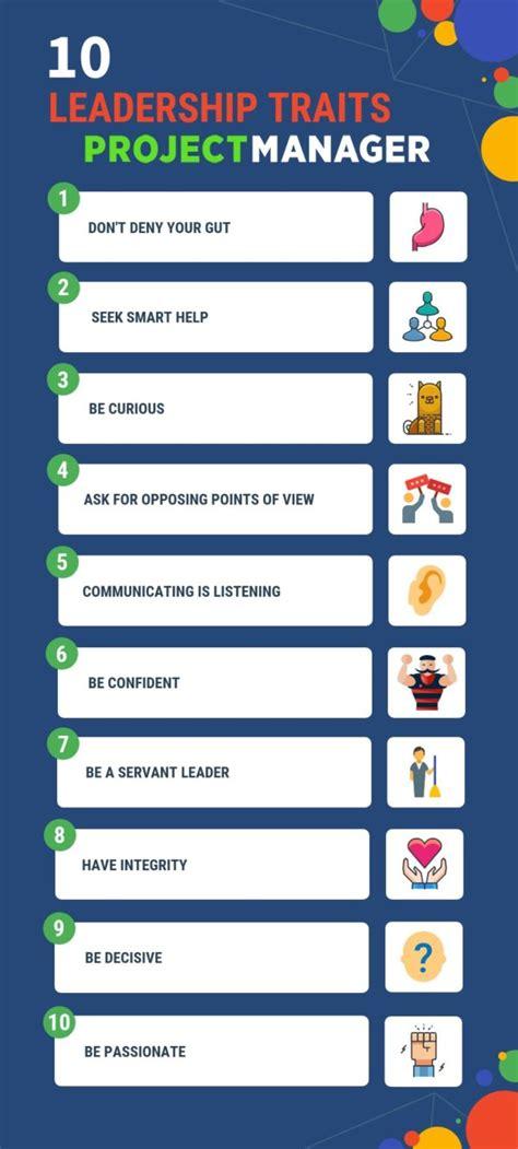 top  leadership traits      takes  lead