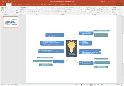 mind map beispiele fuer powerpoint