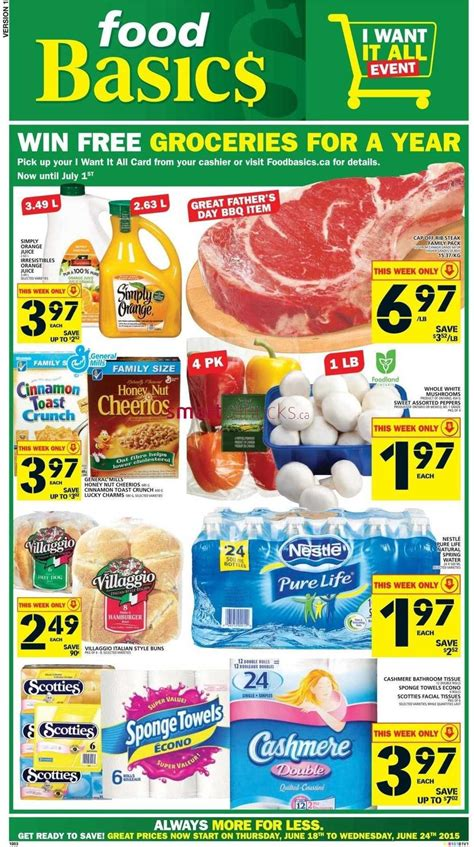 basics of cuisine flyer food basics flyer page 9
