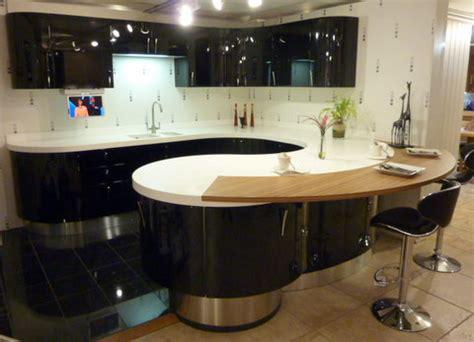 display aster cucine high gloss black kitchen