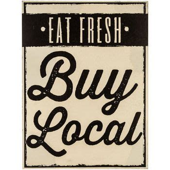 eat fresh buy local mdf wood sign kitchenwishin signs fresh and wood signs