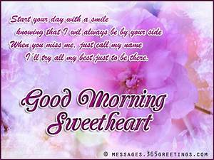 Good Morning Messages for Girlfriend - 365greetings.com