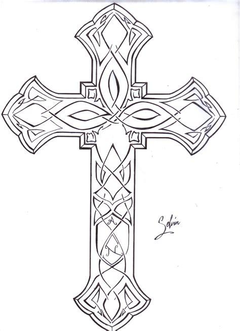 Cross Tattoo Tattoos Pinterest Cross Designs