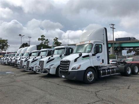 rng powered trucks operating  la long