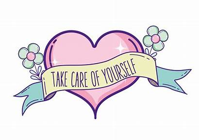 Care Yourself Take Quote Vector Vecteezy Clipart