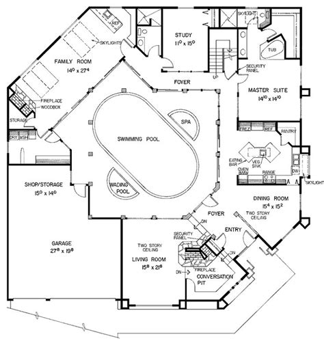 house plans pool courtyard pool house plans courtyard house plans mediterranean style