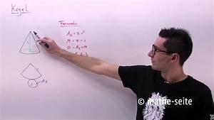 Kegelfläche Berechnen : kegel kegelvolumen kegelfl che mantelfl che berechnen youtube ~ Themetempest.com Abrechnung