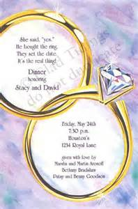 rehearsal dinner invitation wording with this engagement ring invitation engagement party