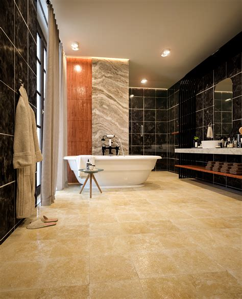 black bathroom  behance