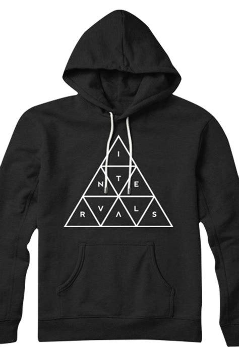 Illuminati Sweatshirt Illuminati Pullover Hoodie Black Outerwear Intervals