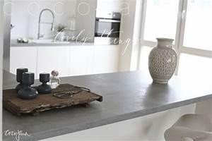 Beton Arbeitsplatte Küche : 25 arbeitsplatte betonoptik pinterest k che ~ Sanjose-hotels-ca.com Haus und Dekorationen