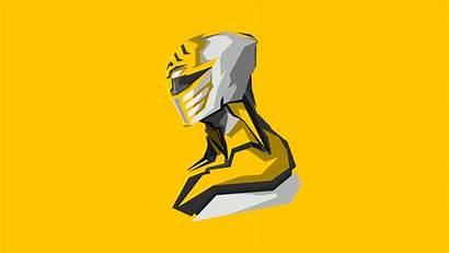 Rangers Power 4k Wallpapers Yellow Artwork Resolution