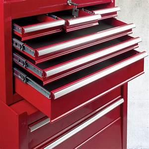 Caisse A Outils A Tiroir : servante d 39 atelier rouge 8 tiroirs avec caisse outils ~ Dailycaller-alerts.com Idées de Décoration