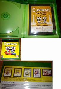 Manuals Inserts And Box Art 182174  Cuphead Cel