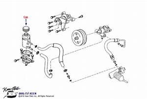 1953-2018 Corvette Power Steering Pump Parts