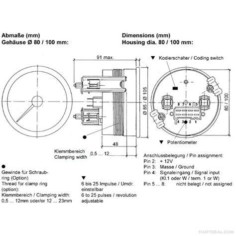 diagram vdo wiring tach wiring library