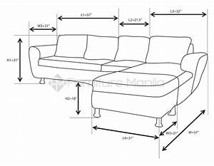 Alina L-Shaped Sofa with Stool Home & Office Furniture