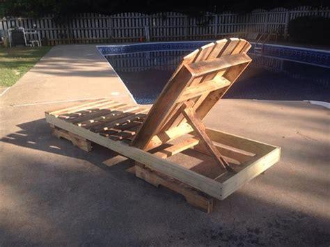 diy pallet lounge chair pallet furniture plans