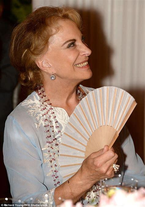 princess michael  kent  forgets  fan daily