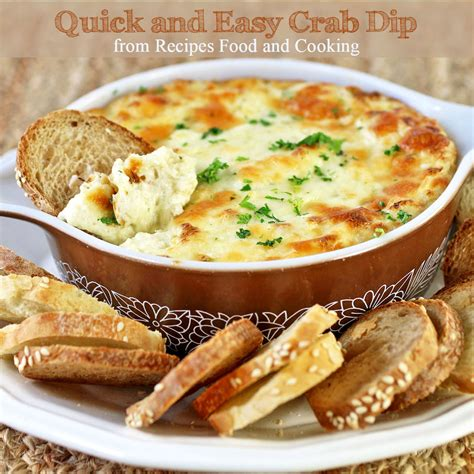 simple dip recipes easy and quick crab dip recipes food and cooking