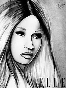 Nicki minaj drawing work | Queen Nicki Minaj | Pinterest ...
