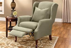 sure fit slipcovers restore your wing chair to its former