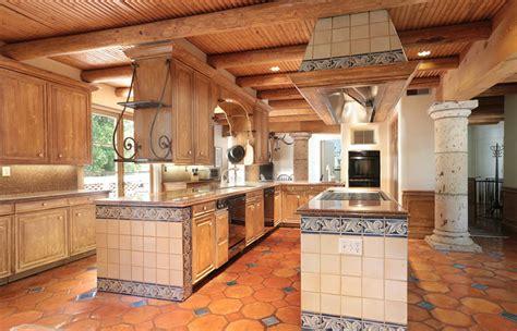 rustic kitchen floor ideas rustic terracotta kitchen floor tiles morespoons 4996