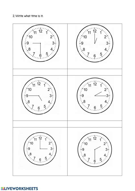 english hours revision  worksheet