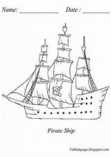 Ship Coloring Pages Sunken Pirate Ships Printable Drawing Pirates Colouring Boat Dkidspage Sheets Getcolorings Coloringages Patterns sketch template