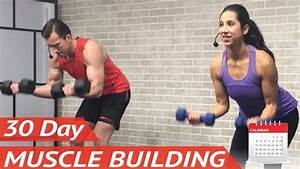 30 Day Muscle Building Program  Ud83d Udcaa  20 Free Full