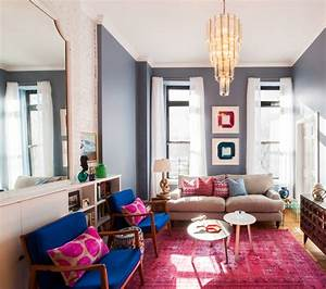 25, Stunning, Eclectic, Living, Room, Decor, Ideas