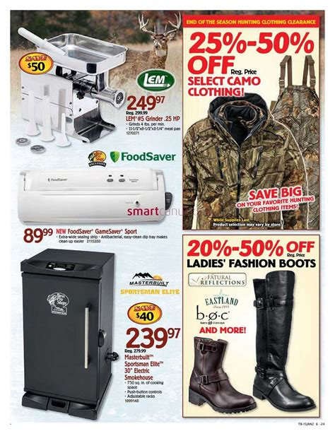 Bass Pro Shops flyer January 5 to 18