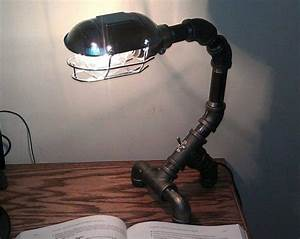 Diy  How Lamp With Recycled Pipe Parts  U2022 Id Lights