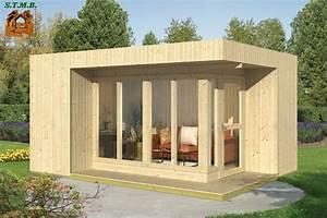 le bureau de jardin modulaire en bois stmb construction With bureau de jardin en bois