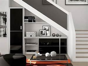 Amenager Sous Escalier : 5 astuces pour am nager l espace sous l escalier le blog ~ Voncanada.com Idées de Décoration
