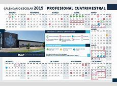 Calendario Escolar Benemérita Universidad Autónoma de Puebla