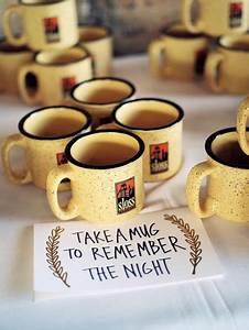 35 brilliant ideas for winter wedding favors With coffee mug wedding favors