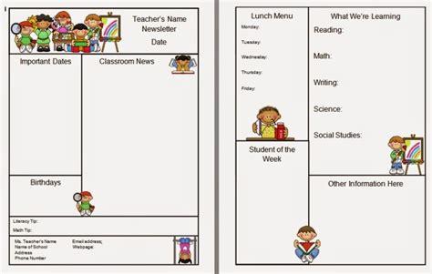warren sparrow classroom newsletter template