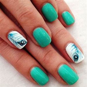 15 feather nail designs and ideas inspired
