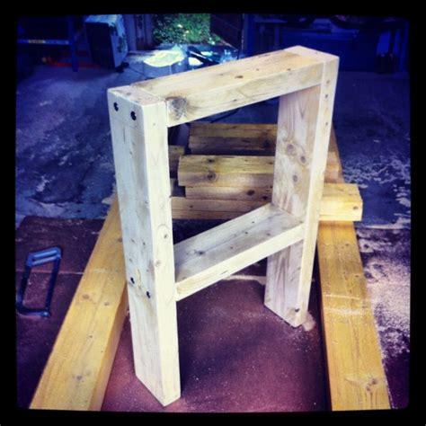 fabriquer un pied de le bricolage diy fabriquer 233 tabli en bastaing 233 1 les pieds