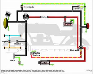 Here Is A Cx500 Gl500 Simplified Wiring Diagram I Found