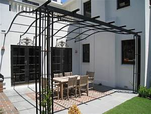 Doing by Wooding: Useful Metal pergola plans
