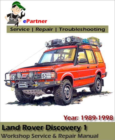 car engine repair manual 1998 land rover discovery windshield wipe control land rover discovery 1 service repair manual 1989 1998 automotive service repair manual