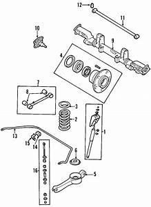 Kia Sedona Suspension Subframe  Rear   Sedona  W  Abs  From 5  21  04  W  Abs