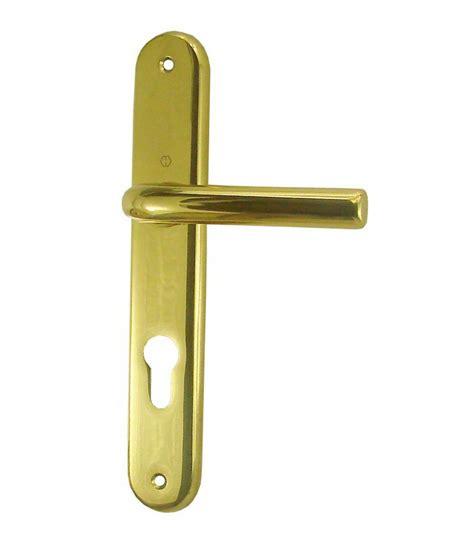 ensemble de poign 233 es de porte orly trou cylindre 195 mm laiton poli verni 1001poign 233 es sas vipaq