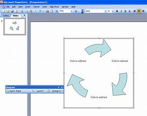 Diagrams In Microsoft Power Point 2003