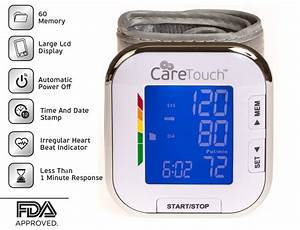 Care Touch Fully Automatic Wrist Blood Pressure Cuff