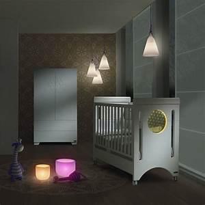 Chambre Bébé Moderne : lit b b avec veilleuse baby balance de micuna lit b b design avec veilleuse color e int gr e ~ Melissatoandfro.com Idées de Décoration